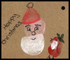 Santa Gift Tag : How to Make Gift Tags Instructions