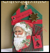 Father Christmas Gift Tag : Make Christmas Gift Tags Craft for Kids