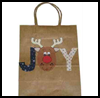 Decorated Paper Gift Bags : Making Christmas Gift Bags Craft for Children