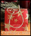 Paper Gift Bag : Christmas Present Bags Craft Instructions