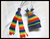 Hat<br />  & Scarf Ornaments     : Christmas Ornaments Arts and Crafts Projects