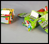 Juice   Box Car and Plane  : Juice Box Crafts Ideas for Kids