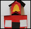 Model   Schoolhouse  : Crafts with Juice Boxes for Children