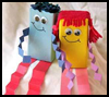 Juice   Box Dolls  : Crafts with Juice Boxes for Children