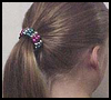 Pony   Bead Ponytail Holders  : How to Make Pony Tail Holders