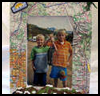 Vacation   Map Picture Frame