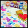 Make Sponge Art Wrapping Paper Crafts Activity for Children