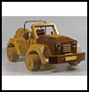 Wood Classic Toy Car