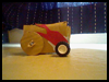 Cardboard Motorized Toy Car Craft Project Directions for Children