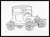 Tin Model Toy Car (
