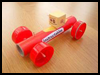 Robot Racer Rubber Band Car