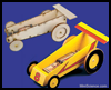 Mousetrap Powered Toy Car
