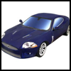 Jaguar XKR : Fun Printable Paper Toy Car Model for Children
