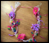 Candy Necklace Craft for Kids