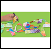 Crafts Activities Using Ribbons