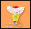 Blooming Bouquet Ribbons Crafts Activity for Children