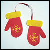 Craft Foam Mittens Arts and Crafts Project for Kids