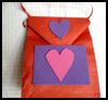 Valentines Day Ribbons Craft