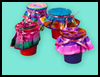 Tie Die Ribbons Crafts for Kids
