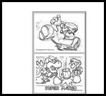 cool mario coloring pages to
