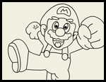 Mario Coloring Pages and Printouts for Kids: Free Super Mario Bros ...