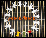 How to Make a People Peace Dance Paper Cutout Craft for Martin Luther King Day