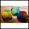 Dodecahedron  : Modular Origami Instructions