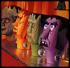 Monster Jug Heads Craft with Milk Jugs