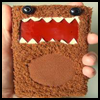 Furry   Monster Case (Domokun)    : How to Make  iPod / MP3 Covers