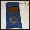 Fabric   iPod/MP3 Carrying Case  .   : How to Make  iPod / MP3 Holders