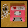 Crafting   Through the 80's .   : How to Make  MP3 Cases