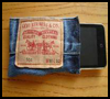 Denim   Gadget Case .   : How to Make  MP3 Cases