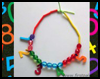 Number Necklace   : Numbers Crafts  for Kids