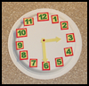 Clock   Craft  : Numbers Crafts Ideas for Kids