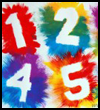 Exploding Numbers  : Numbers Crafts Ideas for Kids