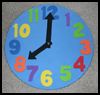 Kids   Clock Craft  : Numbers Crafts Ideas for Kids