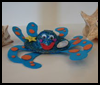 Octopus   Hat Craft   : Octopus Crafts Ideas for Children