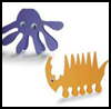 Paper   Animals   : Octopus Crafts Ideas for Children