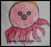 Under   the sea crafts – Paper plate Octopus