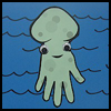 Handprint   Octopus  : Octopus Crafts Activities