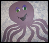 Draw   an Octopus Mural on Your Wall   : Octopus Crafts Ideas for Children