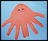 An   Octopus who is a Real Handful  : Octopus Crafts Activities