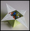 Origami Star Box Folding Instructions
