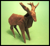Folding Origami Stags Animals Tutorials