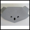 How to Fold Origami Koala Bear Animals