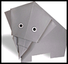 How to Make Origami Elephants Animals