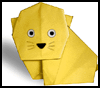 How to Fold Origami Kitty Cats Directions