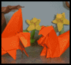 Folding Origami Squirrels Models