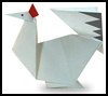 How to Make Origami Chickens Tutorials