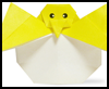 How to Make Origami Baby Chicks Directions